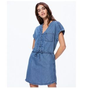NWT {PAIGE} Haidee Chambray Dress